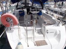 Jeanneau Sun Odyssey 37 : Aft transom and swim ladder